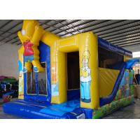 Wholesale The Simpons Customized Character Kids Inflatable Bounce House Air Inflated Jumper from china suppliers