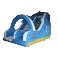 Quality Large Commercial Inflatable Water Slides For Adults Fireproof PVC Material Made for sale