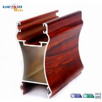 Wholesale Furniture Aluminium Doors And Windows Extrusion Profiles , 1.2mm Thickness from china suppliers