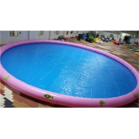 Wholesale 16mD Large Round 0.9mm PVC Tarpaulin Inflatable Swimming Pool For Outdoor Or Indoor Kid's Playing from china suppliers