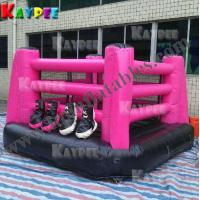 Wholesale Hot Boxing Ring with gloves, inflatable sport game KSP059 from china suppliers