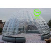 Wholesale 2016 hot sell inflatable igloo  tent for commercial use with 24months warranty from china suppliers