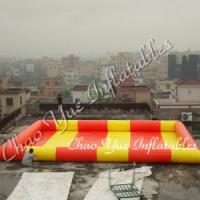 Wholesale Colorful Wholesale Inflatable Water Pool for outdoor(CY-M1507) from china suppliers