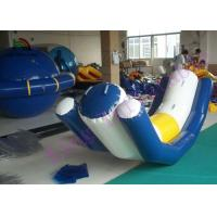 China Inflatable Water Totter Games Water Seesaw PVC Inflatable Water Toy With CE Approved on sale