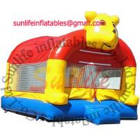Wholesale inflatable 0.55mm pvc tarpaulin jumping castle BO034 from china suppliers