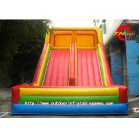 Wholesale Rainbow Large Inflatable Water Slides For PVC Tarpaulin Material from china suppliers