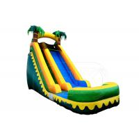 Wholesale Commercial Inflatable Swimming Pool With Slide / Inflatable Water Slide Big Kids from china suppliers