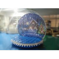 Buy cheap PVC Inflatable Snow Globe Yard Decoration For Advertising 3 Years Warranty from wholesalers