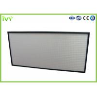 Wholesale Easy Operated HEPA Air Filter Polyurethane Sealant With Aluminum Plate Frame from china suppliers