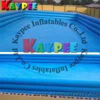 Wholesale Square Inflatable swimming pool,triple tubes pvc pool,airtight outdoor indoor pool KPL002 from china suppliers