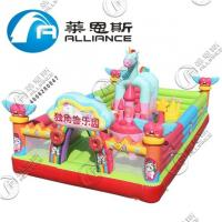 Wholesale Customized Size Inflatable Bounce Castle PVC Tarpaulin Material For Kids from china suppliers
