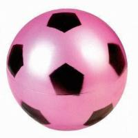 Wholesale 25cm PVC Toy Ball Football Pattern Printing Swimming Pool Outdoor Toys from china suppliers
