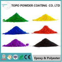 Quality Metal Furniture Epoxy Polyester Powder Coating RAL 1001 Color Smooth Finishing for sale