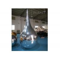 Wholesale Reflective Inflatable Mirror Ball Water Drop Shaped Customized Size from china suppliers