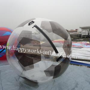 soccer shape water walking ball , human water bubble ball , walking water ball pool
