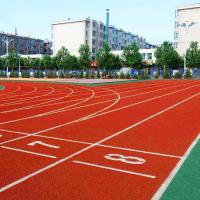 Sports Field Jogging Track Material With Synthetic And Rubber Compounds