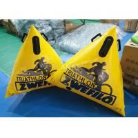 Wholesale 1.5 Meter Swimming Area Marker Buoy , Yellow Buoy Marker OEM Acceptable from china suppliers