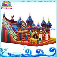 Buy cheap cartoon air castle inflatables/ inflatable castle jumper/ kids toys air castle from wholesalers