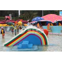 Wholesale Small Rainbow Bridge Slide, Children Water Park Slide of Small Waterpark for Kids from china suppliers