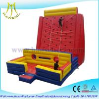 China Hansel 2016 Extreme sports rock inflatable climbing wall on sale