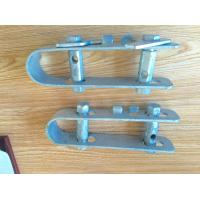 Quality Trellis Wire Tensioner Galvanized Anti Hail One Hole Anchor Clamp Support Clamp for sale