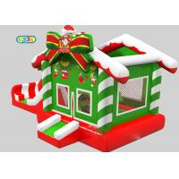 Child Party Pvc Outdoor Christmas Commercial Bouncing Castle With Blower