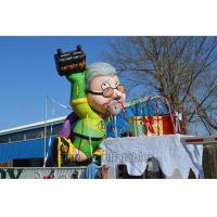 Wholesale 4m Decorative Inflatable Cartoon Characters Colorful With Durable PVC Tarpaulin from china suppliers