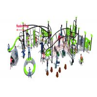 Omnipotence Rope Climbing Playground Equipment With Item Kinds , Outdoor Climbing Rope Structures