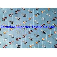 Wholesale Twill Peach Paper Print Beachwear Fabric For Garment 240T 118GSM from china suppliers