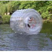 Wholesale Outdoor Pool Inflatable Water Roller , PVC / TPU Giant Inflatable Rolling Ball from china suppliers