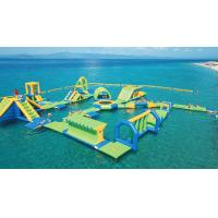 Buy cheap Greece Outdoor Inflatable Floating Water Park Games / Waterpark Inflatables from wholesalers