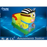 Wholesale Safety Kiddy Ride Machine Coin Operated Carousel Kiddie Rides Minions Swing Car from china suppliers