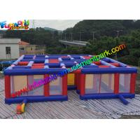 Wholesale Funny Inflatable Air Maze , Mega Inflatable Maze Sport Games for Adults & Childrens from china suppliers