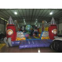 Wholesale Custom Alien Spaceship Blow Up Bounce House , Little Tikes Inflatable Bounce House from china suppliers