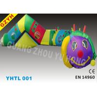 Wholesale Double / Quadruple Stitche PVC Inflatable Sports Tunnel YHTL-001 with EN 14960 Certifiates from china suppliers