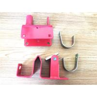Wholesale One Way Lockable Farm Gate Latches Black Powder Coating For Construction Hardware from china suppliers