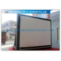 Wholesale Enjoy Outdoor Large Inflatable Movie Screen Film Screen For Party / Wedding from china suppliers