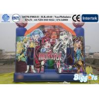 Wholesale Monster High Theme Inflatable Jumping Castle 0.55mm PVC Tarpaulin EN-14960 from china suppliers