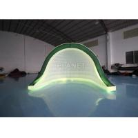 China 3x3x2.5m Advertising Inflatable Tent For Event Stage With Colorful LED Light on sale