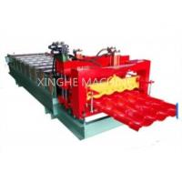 Wholesale 828 Computer Full Automatic Water Ripple Glazed Steel Tile Roll Forming Machine from china suppliers