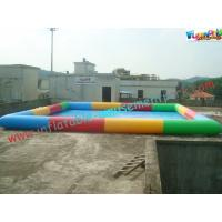 China Colorful Rectangle Inflatable Water Pools Swimming For Water Walking Ball on sale