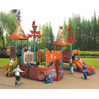 Buy cheap 2015 kindergarten outdoor playground equipment Suitable for normcoe style kids from wholesalers