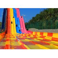 Wholesale Kids 1 Rider / Time 10mm Fiberglass Water Slide from china suppliers