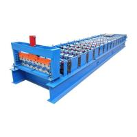 Wholesale 380V Coated Steel Roofing Rolling Machine 3 Phase With 4.0kw Power from china suppliers