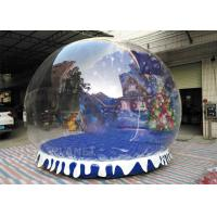 Wholesale Fire Proof Inflatable Human Size Snow Globe For Party , Event Decoration from china suppliers