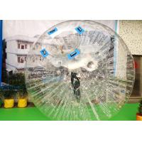 Wholesale Large Inflatable Water Toys Inflatable Zorb Ball / Bumper Body Zorb Ball from china suppliers