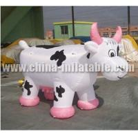 Wholesale Inflatable toy cow cartoon from china suppliers