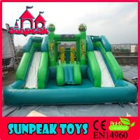 China WL-1841 OEMODM Commercial Inflatable Water Slide Bounce House Swimming Pool on sale