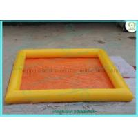 Wholesale Square Yellow Inflatable Water Pool (HI0301001) from china suppliers