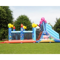 Wholesale Quadruple Stitching 1000D Inflatables Obstacle Course For Promotion from china suppliers